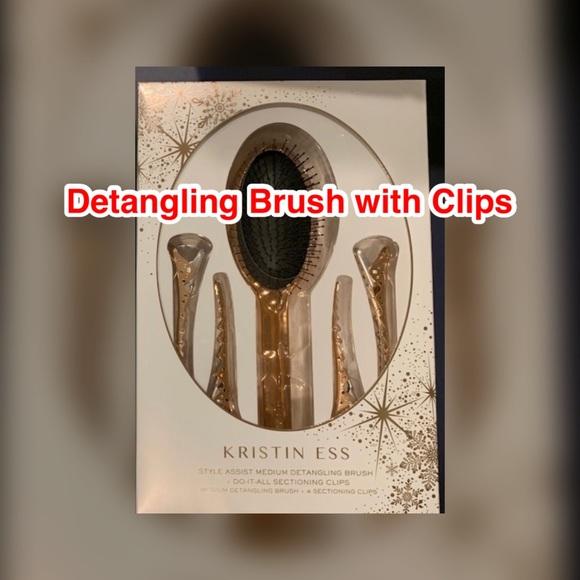 Kristin Ess Hair Kristin Ess Detangling Brush With Clips Poshmark